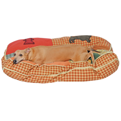 Pillow Dog Bed (Click for Larger Image)