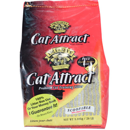 Cat Attract Cat Litter by Precious (Click for Larger Image)