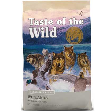 Taste of the Wild Wetlands Canine w/Roasted Fowl 5lb