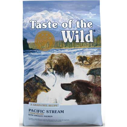 Taste Of The Wild Pacific Stream Canine Formula Dry Dog Food (Click for Larger Image)