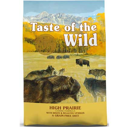 Taste Of The Wild High Prairie Canine Formula Dry Dog Food (Click for Larger Image)