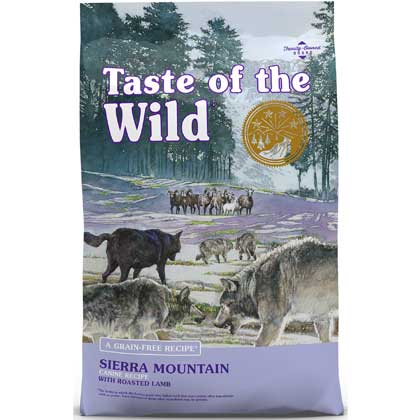 Taste Of The Wild Sierra Mountain Canine Formula Dry Dog Food (Click for Larger Image)