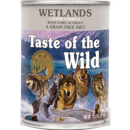 Taste Of The Wild Canned Dog Food (Click for Larger Image)