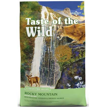 Taste Of The Wild Dry Cat Food (Click for Larger Image)