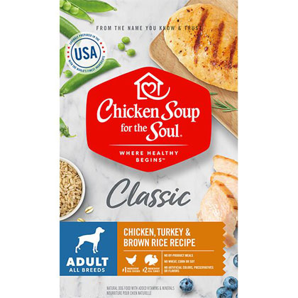 Chicken Soup for the Dog Lover's Soul Adult Dog Dry Food (Click for Larger Image)