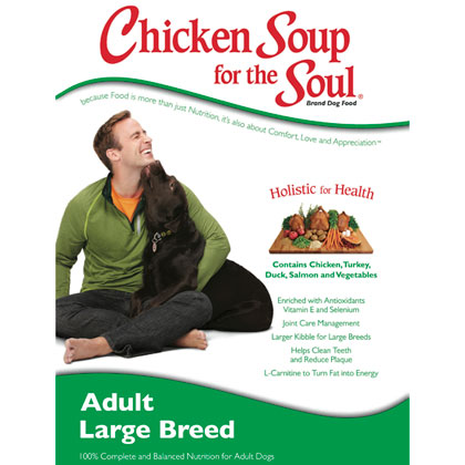 Chicken Soup for the Dog Lover's Soul Large Breed Adult Dog Dry Food (Click for Larger Image)