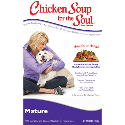 Chicken Soup for the Dog Lover's Soul Senior Dog Dry Food (Click for Larger Image)