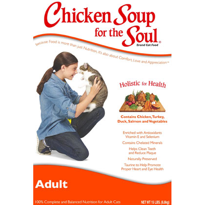 Chicken Soup for the Cat Lover's Soul Adult Cat Dry Food (Click for Larger Image)
