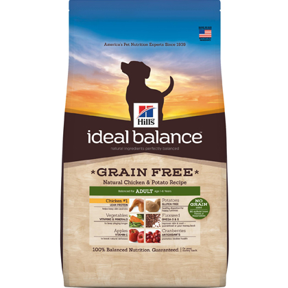Hill's Science Diet Ideal Balance Grain Free Chicken & Potato Adult Dog Food (Click for Larger Image)