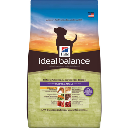 Hill's Science Diet Ideal Balance Mature Dog Food (Click for Larger Image)