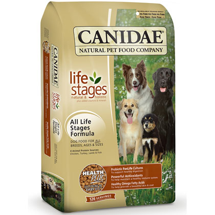 Canidae Dog Food: All Life Stage Formula Dry Food (Click for Larger Image)