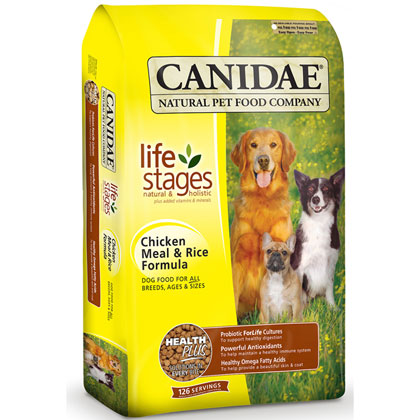 Canidae Chicken Meal and Rice Dry Dog Food (Click for Larger Image)