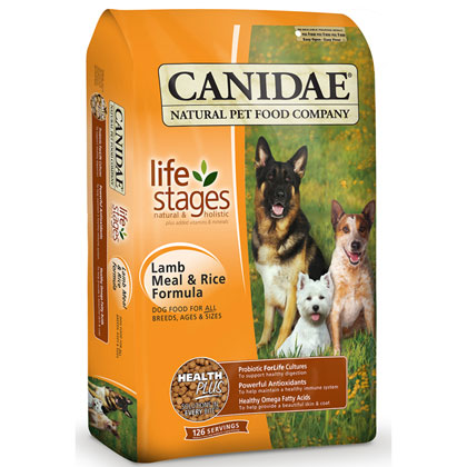 Canidae Lamb Meal and Rice Dry Dog Food (Click for Larger Image)