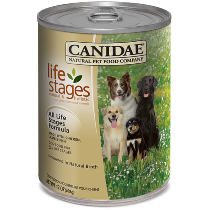 Canidae Chicken, Lamb and Fish Formula in Chicken Broth Dog Food for All Life Stages (Click for Larger Image)