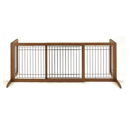 Freestanding Pet Gate Large (Click for Larger Image)