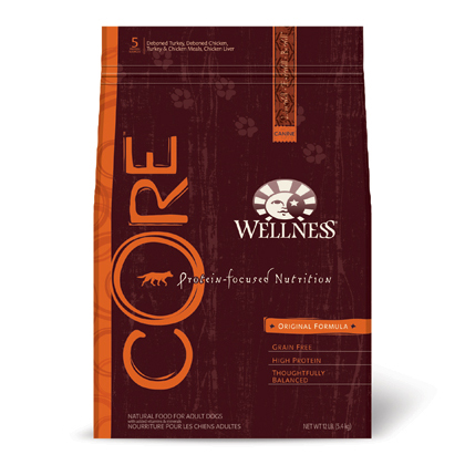 Wellness CORE Dry Dog Food  (Click for Larger Image)