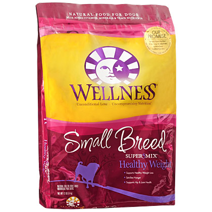 Wellness Small Breed Super5Mix Healthy Weight Recipe Dry Dog Food (Click for Larger Image)