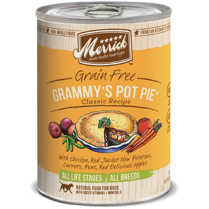 Merrick Canned Dog Food Grammys Pot Pie 12 x 13.2 oz by 1-800-PetMeds