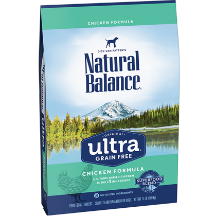 Natural Balance Original Ultra Whole Body Health Chicken, Chicken Meal, Duck Meal Dry Dog Formula (Click for Larger Image)