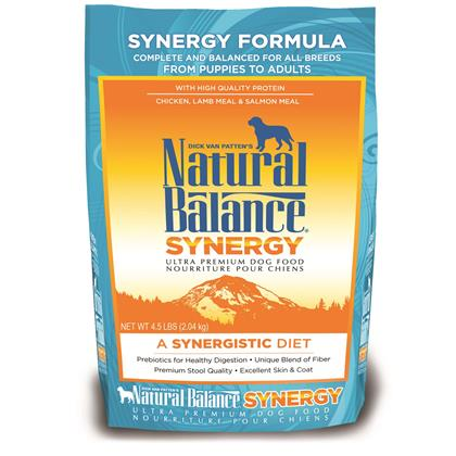 Natural Balance Synergy Ultra Premium Dry Dog Food (Click for Larger Image)