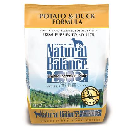 Natural Balance L.I.D. Limited Ingredient Diets Potato & Duck Formula (Click for Larger Image)