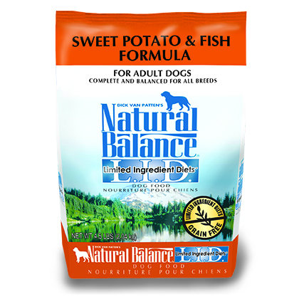 Natural Balance L.I.D. Limited Ingredient Diets Sweet Potato & Fish Formula  (Click for Larger Image)