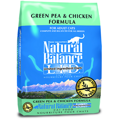 Natural Balance Limited Ingredient Diets Dry Cat Food (Click for Larger Image)