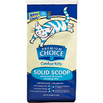 Premium Choice Unscented Scoopable Cat Litter (Click for Larger Image)