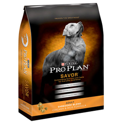 Purina Pro Plan Savor Shredded Chicken Dry Dog Food (Click for Larger Image)