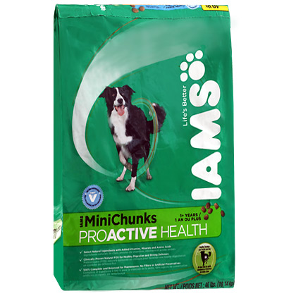 Iams ProActive Health MiniChunks Adult Dry Dog Food (Click for Larger Image)
