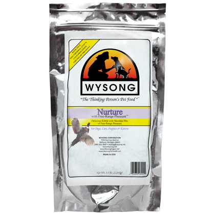 Wysong Nurture with Free Range Pheasant Dry Dog & Cat Food (Click for Larger Image)