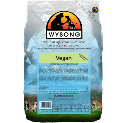 Wysong Vegan Dry Dog & Cat Food 20 lb by Wysong