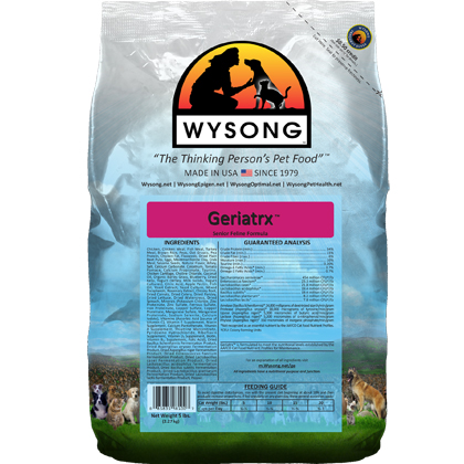 Wysong Geriatrx Dry Cat Food (Click for Larger Image)