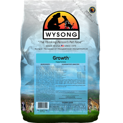 Wysong Growth Dry Dog Food (Click for Larger Image)