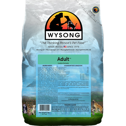 Wysong Adult Dry Dog Food (Click for Larger Image)