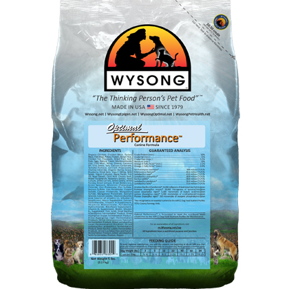 Wysong Optimal Performance Dry Dog Food (Click for Larger Image)