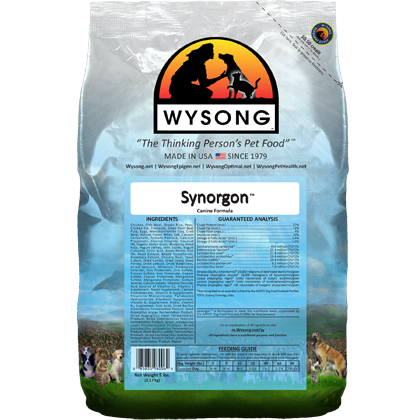 Wysong Synorgon Dry Dog Food (Click for Larger Image)