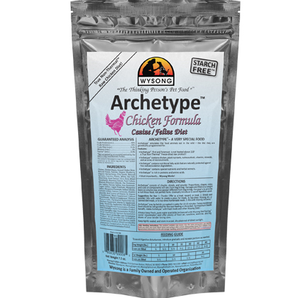 Wysong Archetype Raw Diet Dog & Cat Food (Click for Larger Image)