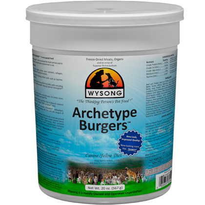 Wysong Archetype Burgers Dog & Cat Food (Click for Larger Image)