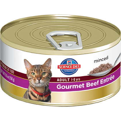 Hill's Science Diet Adult Canned Cat Food  (Click for Larger Image)