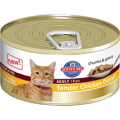 Hill's Science Diet Adult Ideal Balance Canned Cat Food (Click for Larger Image)