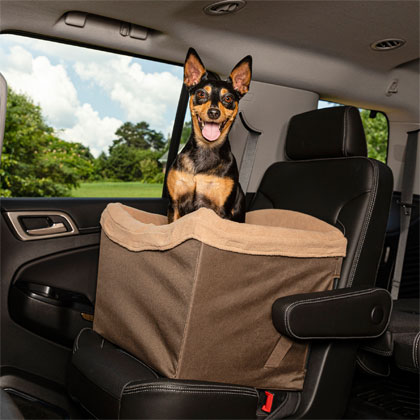 Solvit Jumbo On-Seat Pet Booster  (Click for Larger Image)