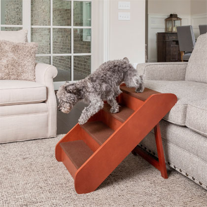 Solvit PupSTEP Wood Pet Stairs (Click for Larger Image)