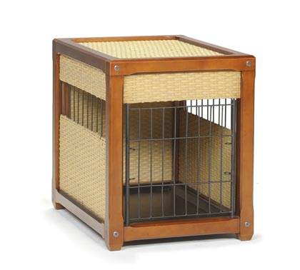 Mr. Herzher's Luxury Indoor Dog House (Click for Larger Image)