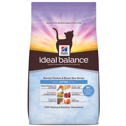 Hill's Science Diet Ideal Balance Dry Kitten Food (Click for Larger Image)