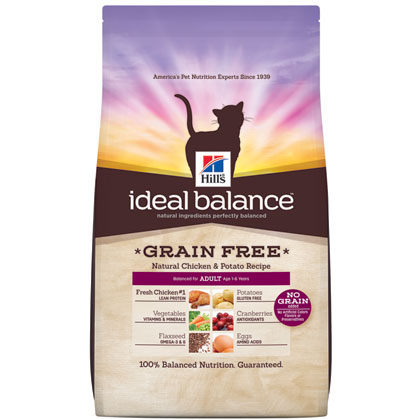 Hill's Science Diet Adult Ideal Balance Grain Free Dry Cat Food (Click for Larger Image)