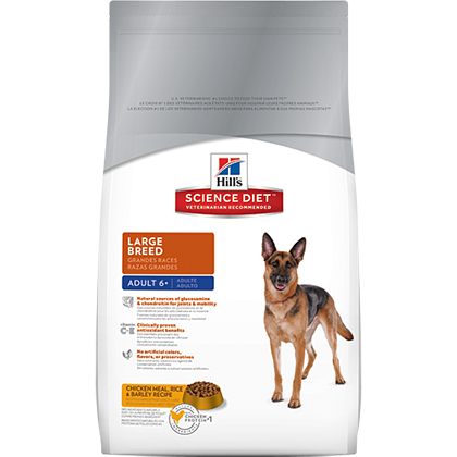 Hill's Science Diet Adult 6+ Large Breed Dry Dog Food (Click for Larger Image)