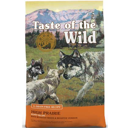 Taste of the Wild High Prairie Dry Puppy Bison Formula (Click for Larger Image)