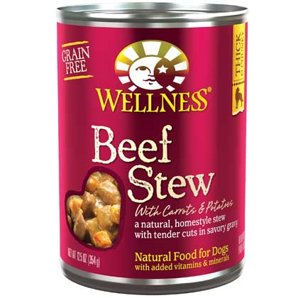 Wellness Stew Canned Dog Food (Click for Larger Image)