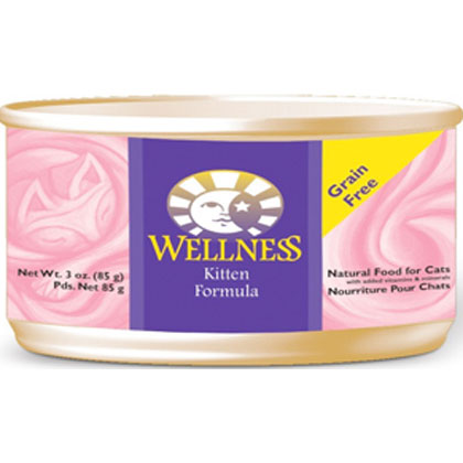 Wellness Canned Kitten Food (Click for Larger Image)